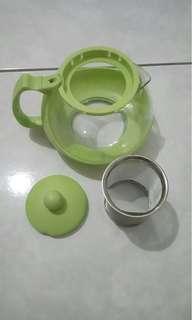全新茶壺 泡茶壺 玻璃材質