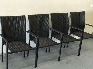 Almost brand new chairs