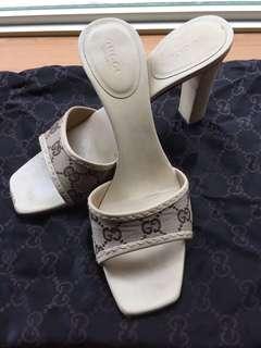 🚚 Gucci 高跟涼鞋7公分