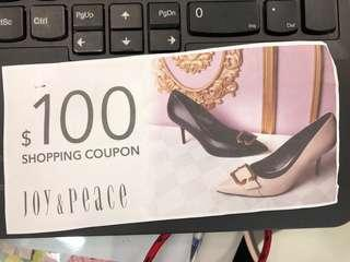 Joy & Peace $100 coupon