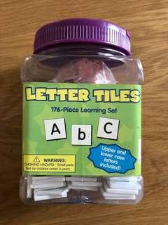 Eureka Letter Tiles