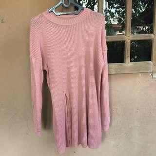 Sweater rajut slit