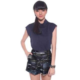 Love Bonito Stacia Foldover Origami Shorts