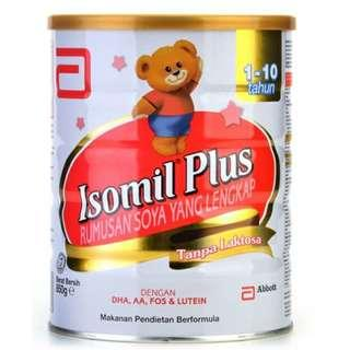 (Exp: 06/2020) Isomil Plus 850g (1-10 Years Old)