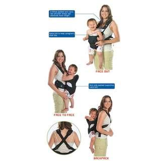 4-position baby carrier