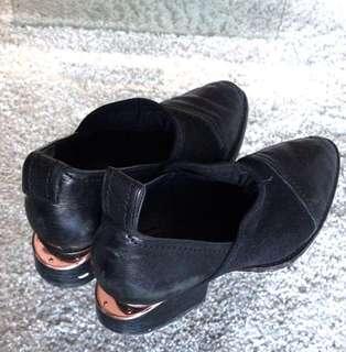 Alexander Wang size 40.5 shoes rose gold heel