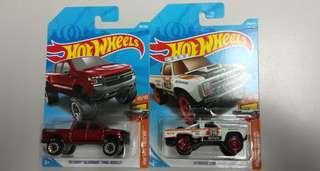 Hotwheels lot hot trucks