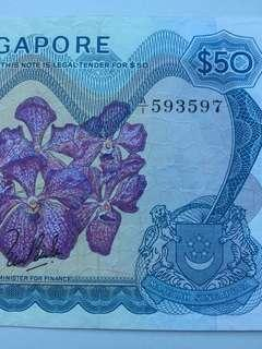 Orchid series banknote