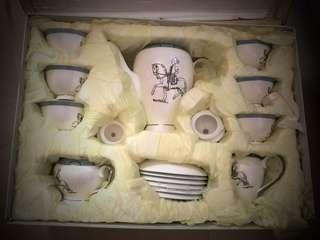 Elegant Bone China Tea set