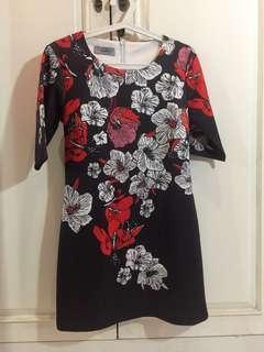 Cloudberry - Black Floral Dress