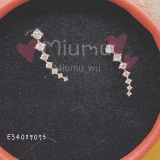 🚚 香港正生銀飾 超美造型耳環