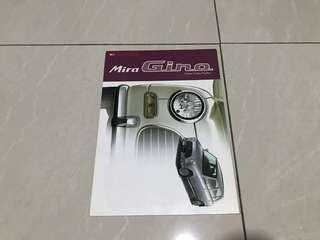 Ori japan Daihatsu mira Gino catalog