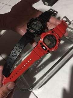 G shock Red and Black!