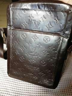 Louis Vuitton matte grace bobby cross body sling bag