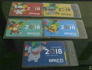 Kartu BRIZZI OFFICIAL Asian Games 2018