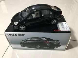 Toyota vios scale 1:18 new item