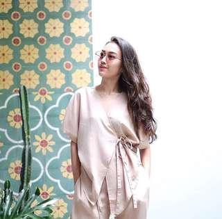 Shopataleen - kimono brown