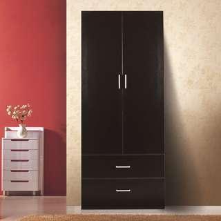 New 2 door 2 drawer Wardrobe