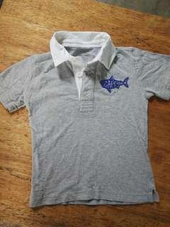 Gap Shark Patril polo shirt ₱50 with stains,please see pictures