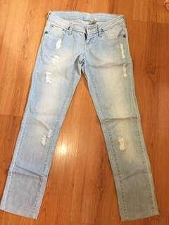 Mango soft denim jeans