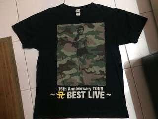 ayumi hamasaki tour shirt