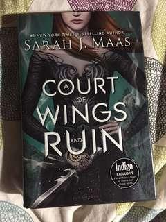 Acowar - a court of wings and ruin by Sarah J Mass - Hardcover