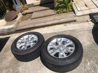 Ford Ranger Stock Spare Tires