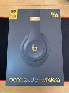 Beats Studio3 Wireless Special Edition Gold Color