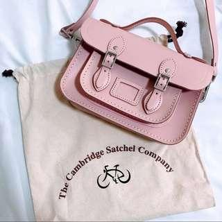 Brand new Cambridge satchel baby pink mini sling bag