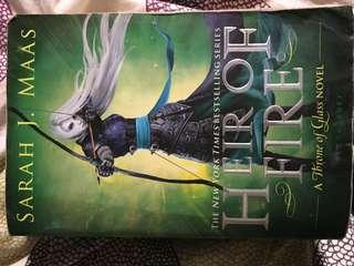Heir of fire by SJM - softcover