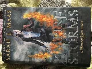 Empire of Storms by Sarah J Maas - hardcover