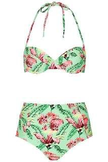 Topshop two piece swimwear
