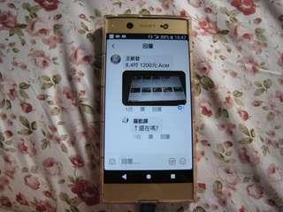 Sony.  Xa1ultra6吋64g手機