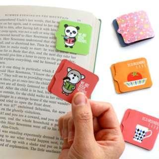 🇰🇷韓國正版 (Y019050) bookzzicard 粘磁兩用書簽 sticky in magnetic