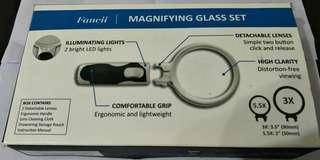 Fancii Magnifying Glass Set