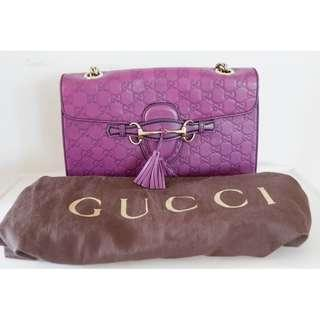 Gucci Violet Bag (AUTHENTIC) PRE LOVED