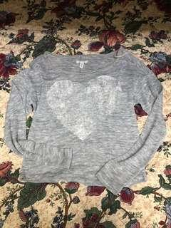 Aeropostale Cute Gray Sweater