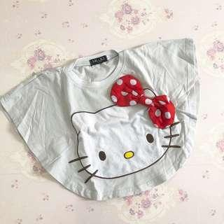 Preloved Hello Kitty Batwing Girl Top