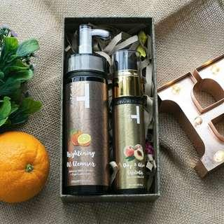 Herv oil cleanser (trial combo set)