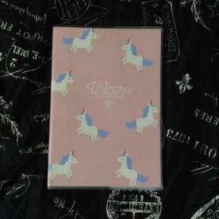 Pink Unicorn Notebook