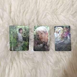 EXO Nature Republic Lenticular Photocards