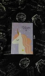 Lavender Unicorn Notebook