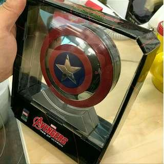 Marvel 美國隊長 無線 藍牙功能喇叭及叉電器