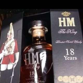 HM The King 18years Blended Scotch Whisky