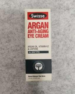 Swisse Argan Eye Cream 摩洛哥堅果抗衰老眼霜15ml