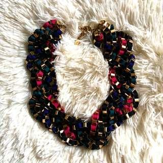 💕Repriced💕Aldo Statement Multi-colored Necklace