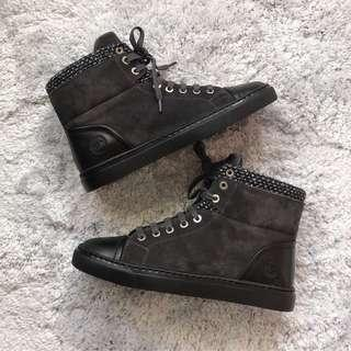 Chanel High Cut Sneakers