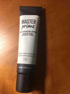 Maybelline Master Prime Pore Minimizing Promer