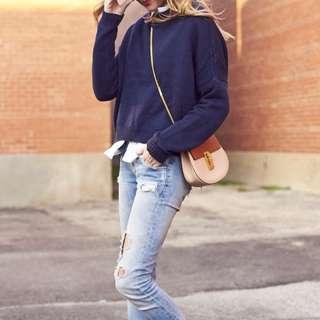 BN Navy Blue Sweater
