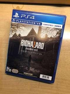 PS4 - biohazard ( resident evil )